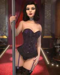 Cabaret Star by Pseudonym3D