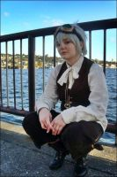 Steampunk - DOWN BY THE BAYYY by Kagamii-chan