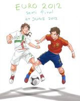 eurocup 2012 semifinal Spain-Portugal by Shin-Wolf