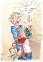 Draco and Teddy (part 2) by CaptBexx