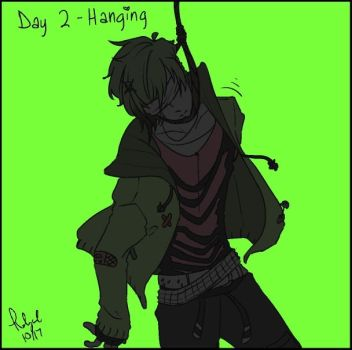 Goretober Day 2 Hanging by Rolycul