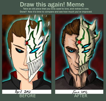 Drawn again- There's always a Darker Side by slithas
