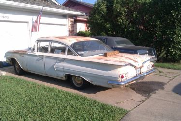 1960 Chevrolet Biscayne [Beater] by TR0LLHAMMEREN