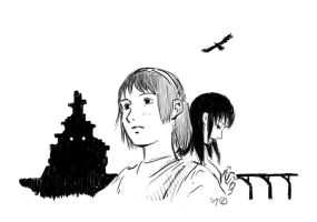 Shadow of the Colossus doodle by petereliot