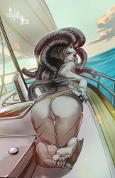 Nautical Ivory pinup by HEARTZMD