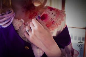 {Diabolik Lovers} Komori Yui Cosplay {Brute END} by lost-lillith