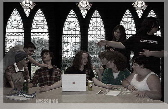 NYSSSA 'Last supper' by LainDragon