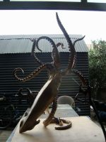 Legend just welded together at studio by bronze4u