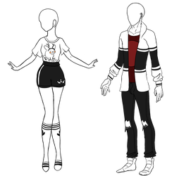 Custom outfits for Itamia by Aligelica