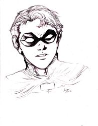 Robin: Can't Beat The Classics SKETCH by kay-sama
