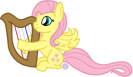 ATG Day 1 : Flutterharp by RicePoison