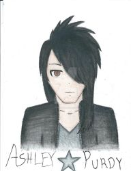 Ashley Purdy Manga Style by BadWolf1818