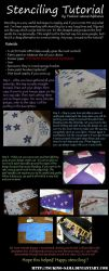 Stenciling Tutorial by alphonia