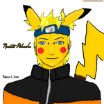 Naruto-Pikachu by theanimeaxis