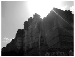 mehrangarh fort - jodhpur by burninlab