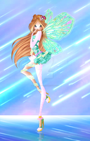 Winx Club: 'Cosmic Orchid' [Flora Lustrarix] by TheGuardianFaerie