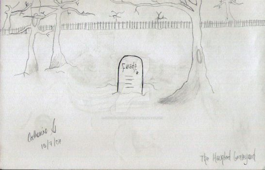 Haunted Graveyard, 2007 by suicide-butterflies