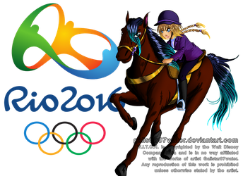 Elyon at the 2016 Rio de Jeinaro Olympics by Galistar07water