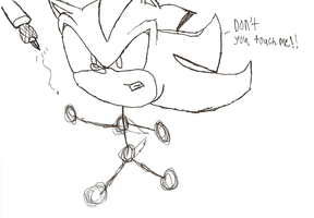 I Can't Finish Shadow The Hedgehog Drawing by shadow759