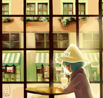 Cofee house witch by Guava-Pie