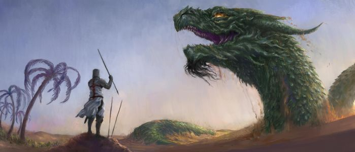 Dragon of the Levant by Theocrata