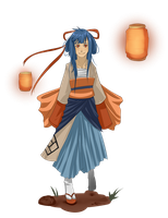 Souon's festival outfit by NeskaMD