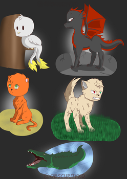 Animales practica by ObscurityXD
