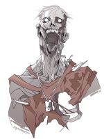 TF2 zombie Scout by biggreenpepper