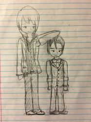 klavier and apollo by meeperzoid