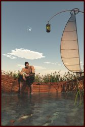 The Traveller's Chronicles: The Marsh by Odilicious