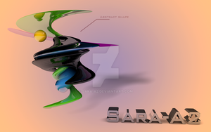 Abstract shape by Sara-A2