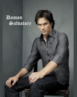 Damon Salvatore by pink121