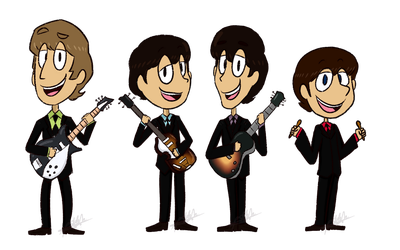 The Beatles by iamtheableh