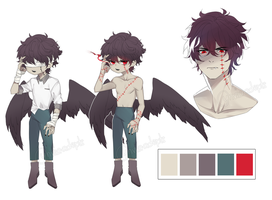 Adopt Auction: Corrupted Angel [closed] by yhviia-adopts
