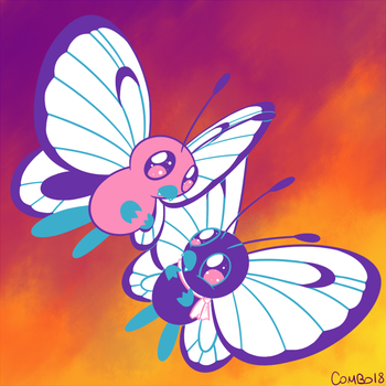 012 - Butterfree by CombotheBeehen