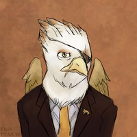 Commission: Gawdyna Grimfeathers by ErinPtah