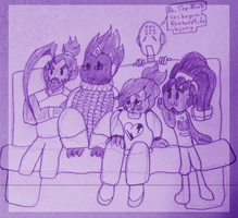 movie nite with the lads by kjd1022