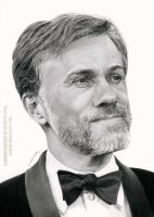 Christoph Waltz by AmBr0