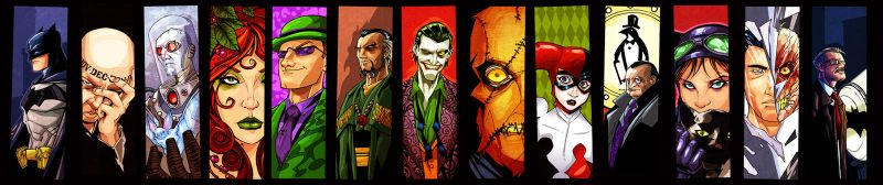 Gotham Icons by KidNotorious