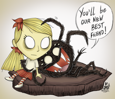 Creepy and Cute by Waffle-the-kitten