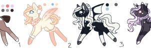 Ranged MLP Adoptions 9.0 :Auction: [Closed] by InspiredPixels