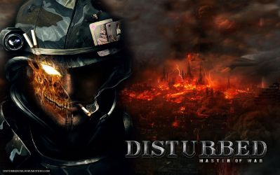 Disturbed Master Of War by morbustelevision2