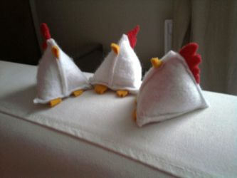 Zomg Chickens by entanglement