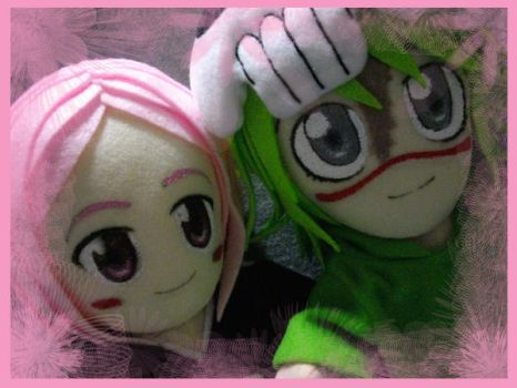 Nel and Yachiru_Friends by renealexa