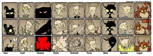 Badluck Demon Cast by mct421
