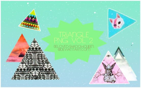 Triangle Sticker vol 2 by Beloved-shadowqueen