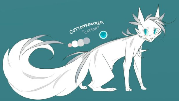 Cottonfeather by Flashpelt1