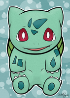 Bulbasaur by pokelugia