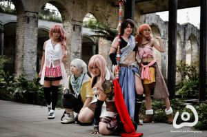 Final Fantasy XIII Group by I-Artemis-I