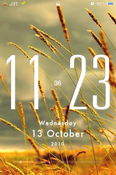 iPhone Lockscreen by technouse